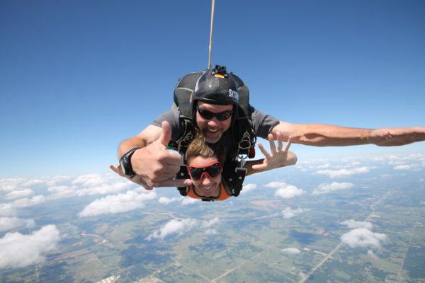 Skydiving Freefalll