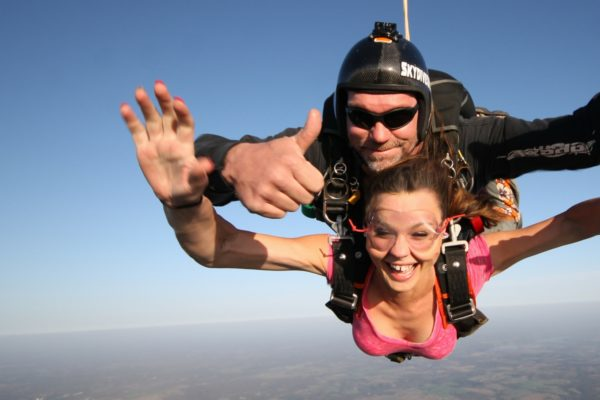 Skydiving Hand Signals