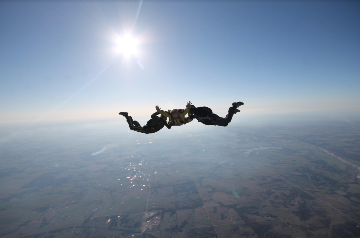 AFF Skydiving in Oklahoma
