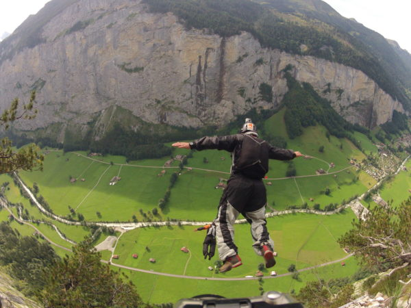 Andy Beck BASE Jumping