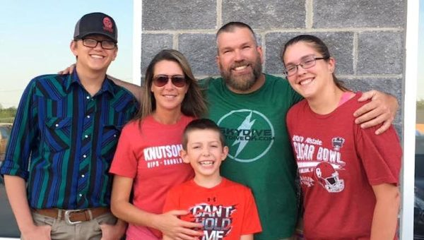 Andy Beck and Family at Oklahoma Skydiving Center