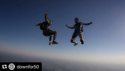 Down for 50 | Oklahoma Skydiving Center | Down for 50 Operation Enduring Warrior