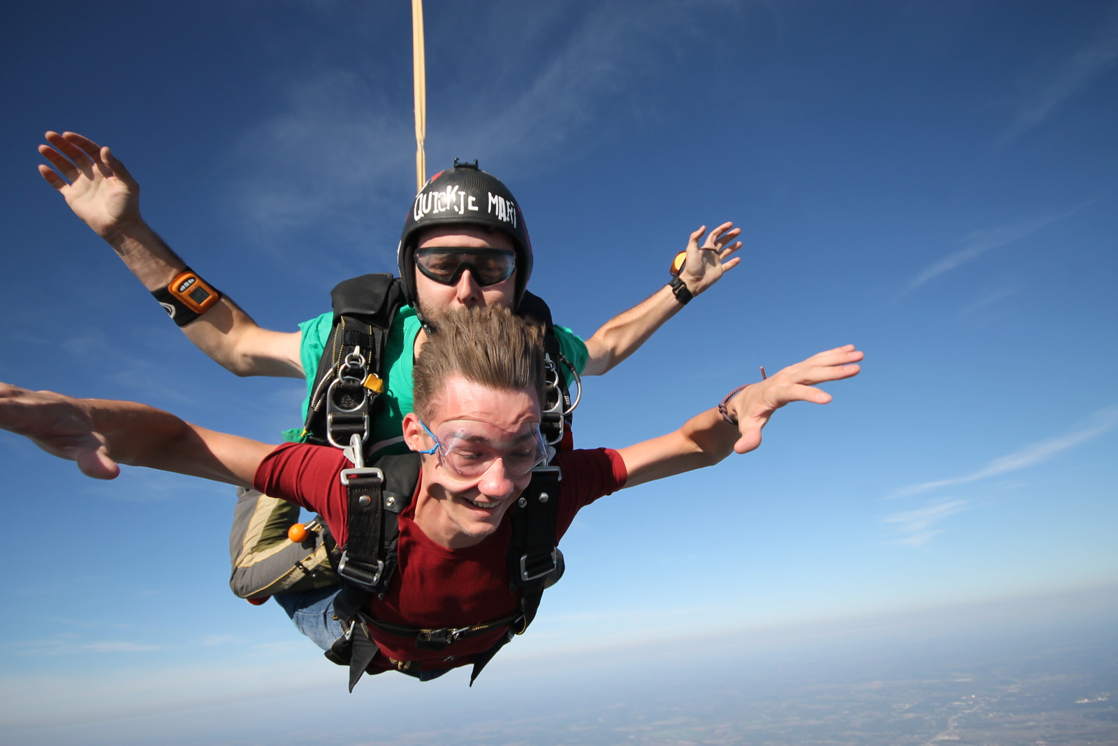 Advice For Your First Tandem Skydive | Oklahoma Skydiving Center
