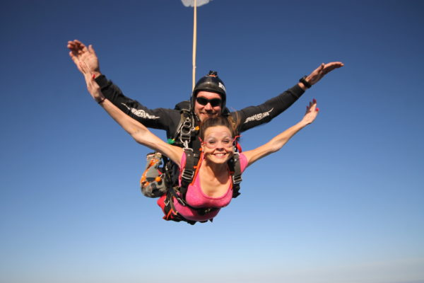 Why do people skydive?