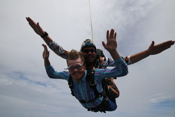 Skydiving Experience with my son at Oklahoma Skydiving Center