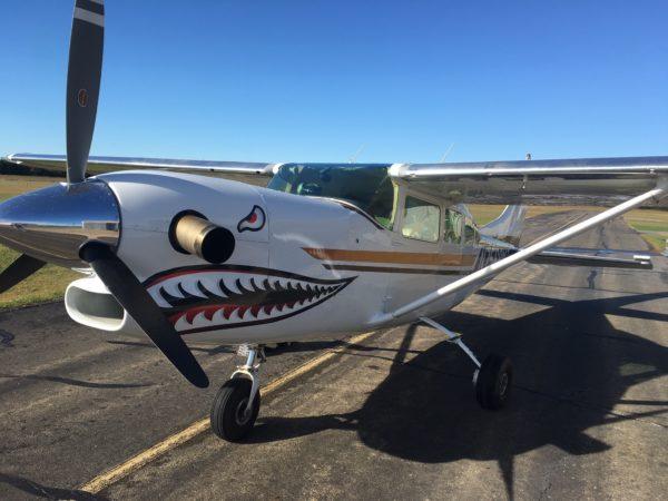 Turbine 206 Aircraft at Oklahoma Skydiving Center