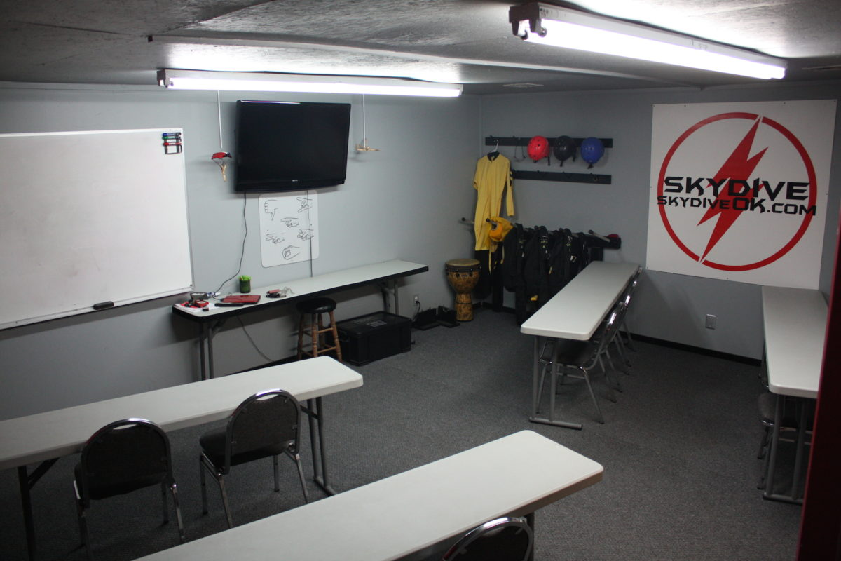 Oklahoma Skydiving Center Training Classroom