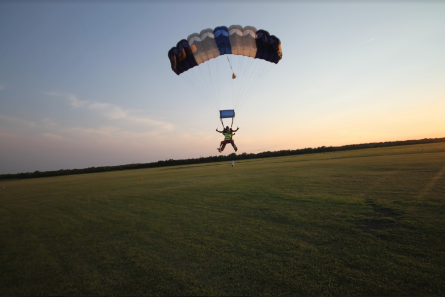 Skydiving Feels Like Walking on Sunshine!