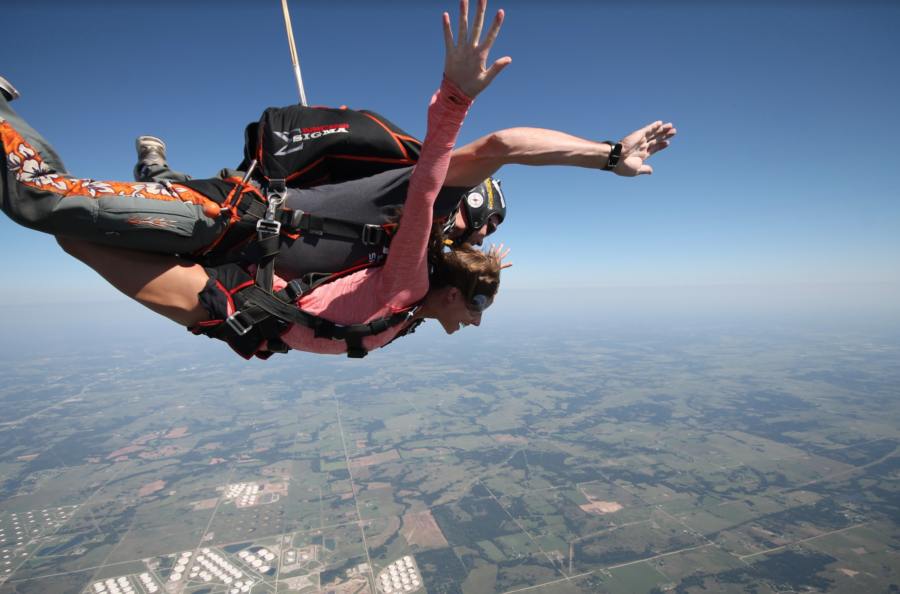 Best month to skydive in Oklahoma