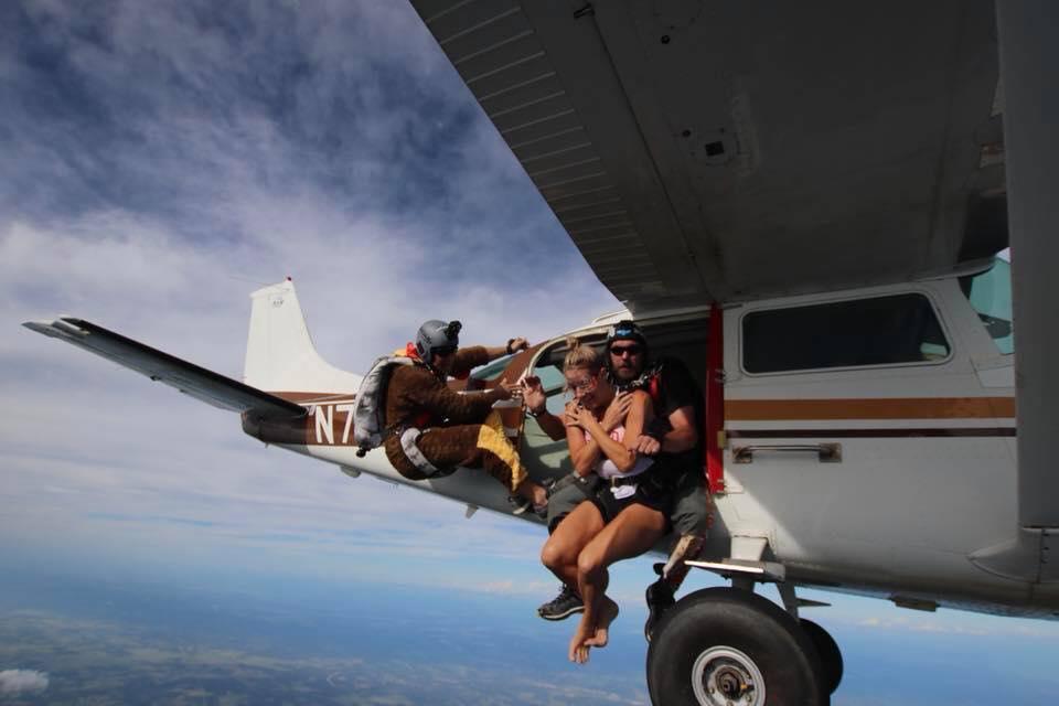 Tandem Skydiving OK