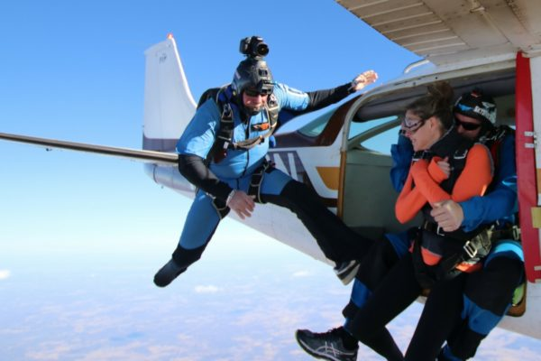 camera flyer. skydiving videos at Oklahoma Skydiving Center