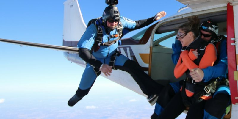 Skydiving Exits: Can I do Backflips and Spins