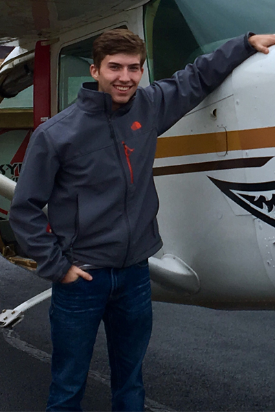 Daniel is one of our Commercially rated pilots who trained at Oklahoma State University.