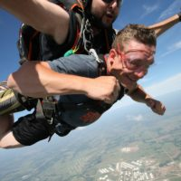 Tandem skydiving at Oklahoma Skydiving Center, most affordable pricing for tandem skydive near Tulsa and Oklahoma City