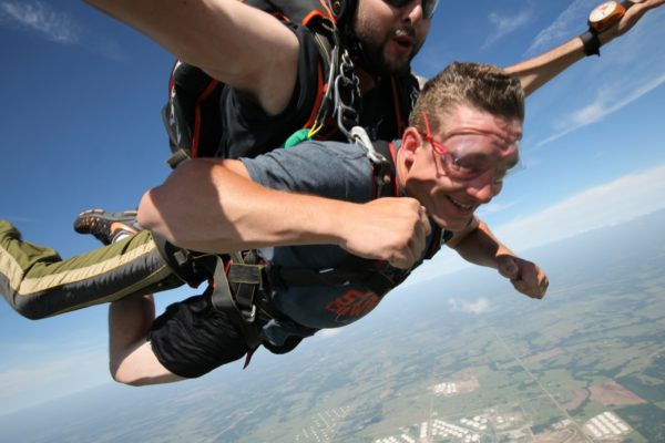 Does Skydiving Hurt Your Ears?