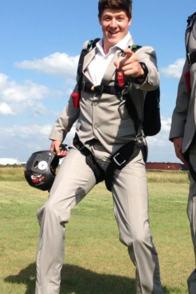 Grant Freeman, Oklahoma Skydiving Center Staff Member