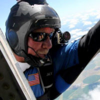 Jack has been skydiving for over 17 years.