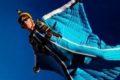 josh mcbride in a wingsuit