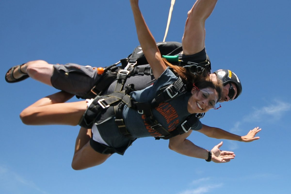 tandem skydiving near Oklahoma City OK
