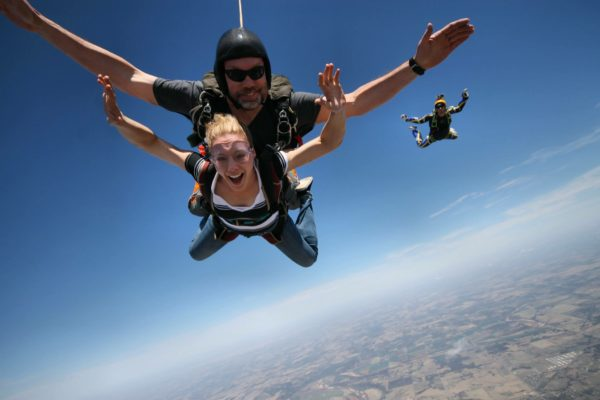 How High Do You Skydive From?